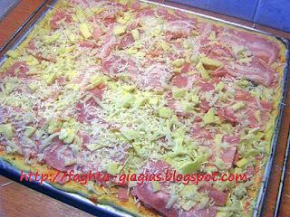 Πίτσα γίγας με αφράτο φύλλο - από «Τα φαγητά της γιαγιάς»