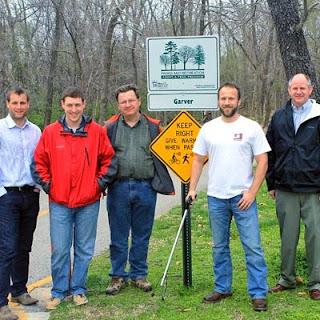 City Recognizes Garver's Volunteer Efforts