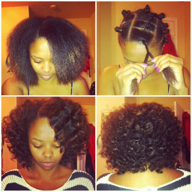 Hairstyles For Short Relaxed Hair Without Heat : Peinados Afro: BANTU KNOTS Sidi Beauty Blog de Belleza