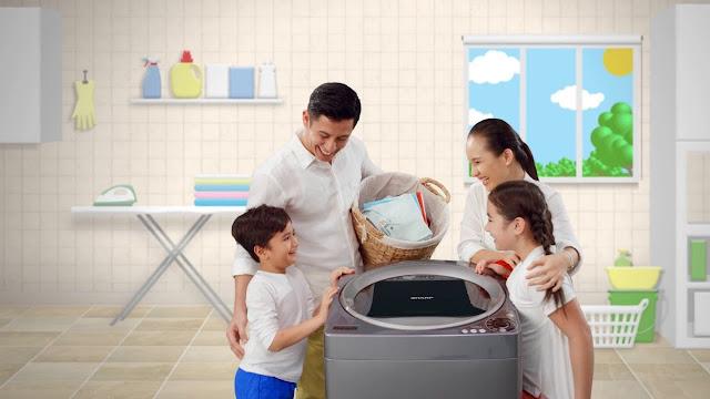 Mengulas Seputar Harga dan Kelebihan Mesin Cuci Sharp 1 Tabung