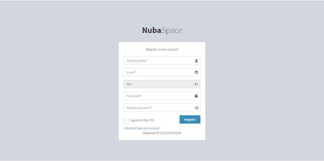 Cara Mendaftar Sebagai Anggota NubaSpace