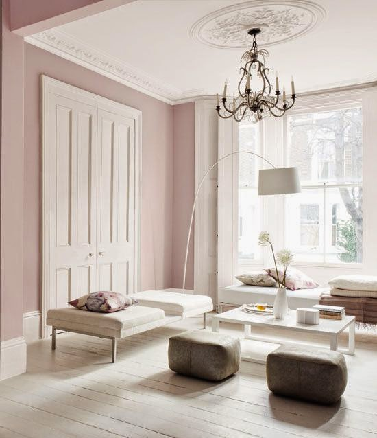Pale Pink Is The Perfect To Use When You Want Create A Feeling Of Calm And Elegance In E