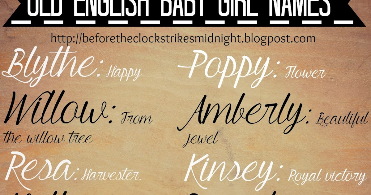 Classic English Names Pictures to Pin on Pinterest - PinsDaddy