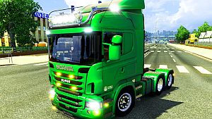 Scania R & Streamline V8 tuning truck
