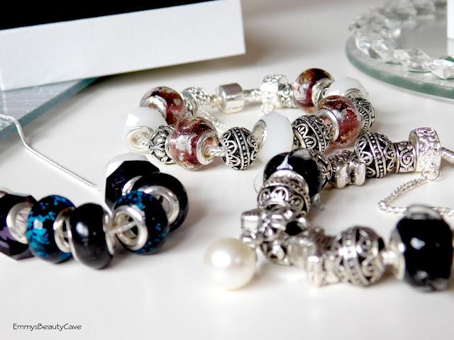 Valentina Jewellery Glass Bead Charm Bracelets
