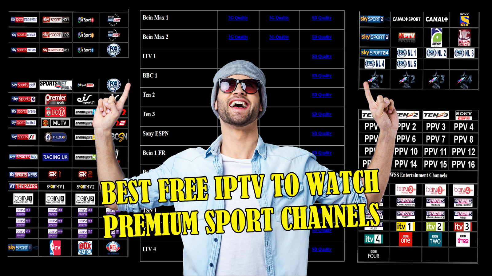 WSS 2 2 APK :BEST FREE IPTV APP TO WATCH PREMIUM SPORT