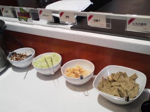 ビュッフェコーナー:味噌汁 札幌東急REIホテル サウスウエスト