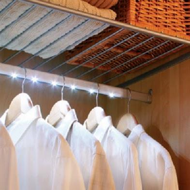 Barra luz led interior armario tu cocina y ba o - Iluminacion interior armarios ...