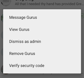 dismiss and demote as admin in WhatsApp group