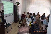 Ora de Limbă şi literatură universală, profesor Natalia Hariton