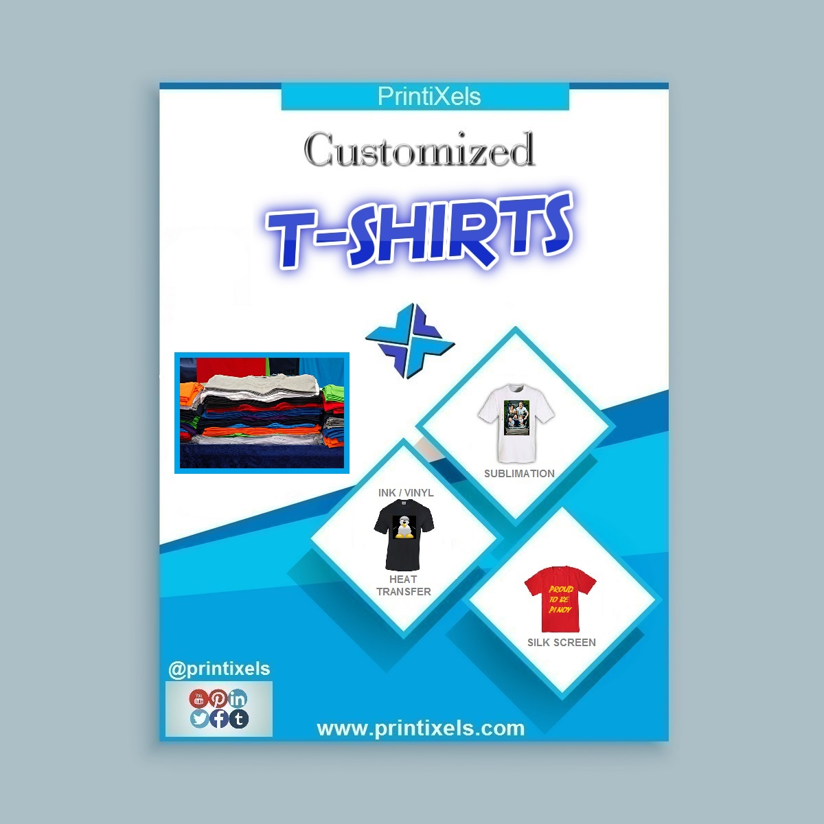 Customized T-Shirt Printing Services