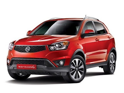 New 2017 SsangYong Korando C HD Picture