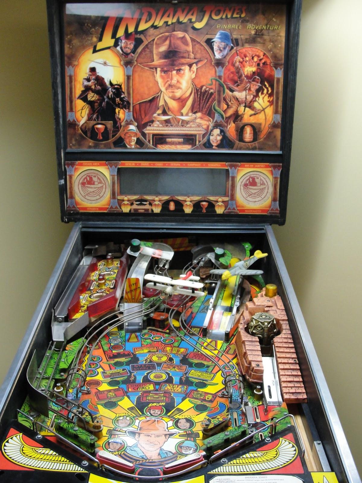 Indiana Jones Pinball Machine (1993) by Williams - Pinball Hem