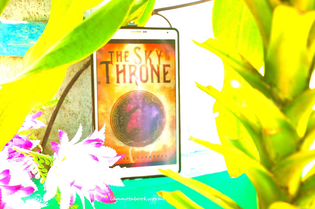 Sky Throne by Chris Ledbetter | Blog Tour | Book Review by iamnotabookworm!