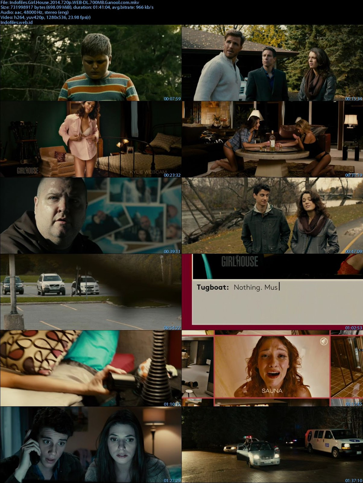 Girl House 2014 Canadian Movie DVDRip Download