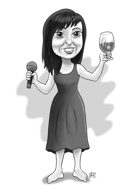 caricatura anna roig