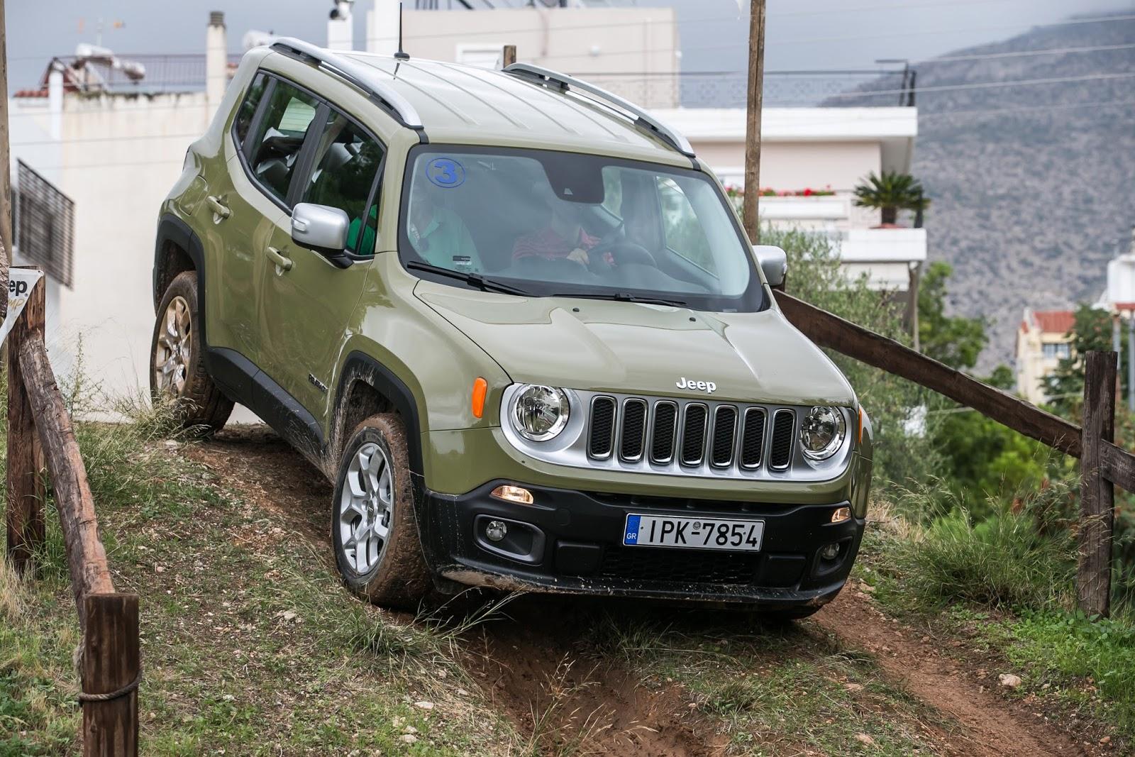 KF 1534 Πετάμε ένα Jeep Renegade σε λάσπες, πέτρες, άμμο, λίμνες. Θα τα καταφέρει; Jeep, Jeep Renegade, Renegade, SUV, TEST, zblog, ΔΟΚΙΜΕΣ