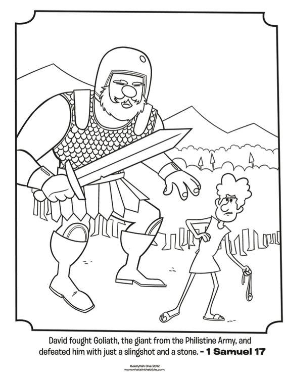 Infantil, la clase de Reli: David y Goliat