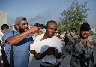 Non à l'esclavage de l'homme NOIR en Libye !