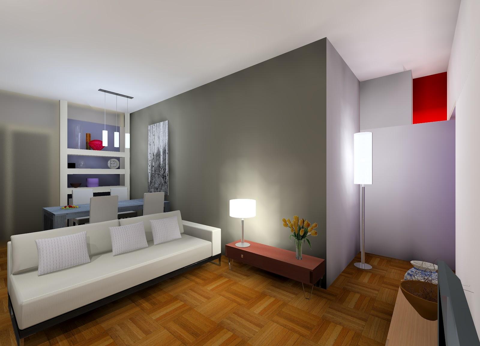 Soggiorno classico cartongesso mensole cartongesso sopra divano