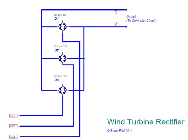 brian ellul blog: air-x new controller pole 3 wire rectifier schematic with labels #6