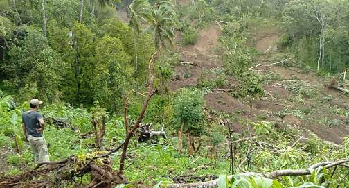 Belasan Hektar Lahan Pertanian, Warga Bontokoraang Longsor