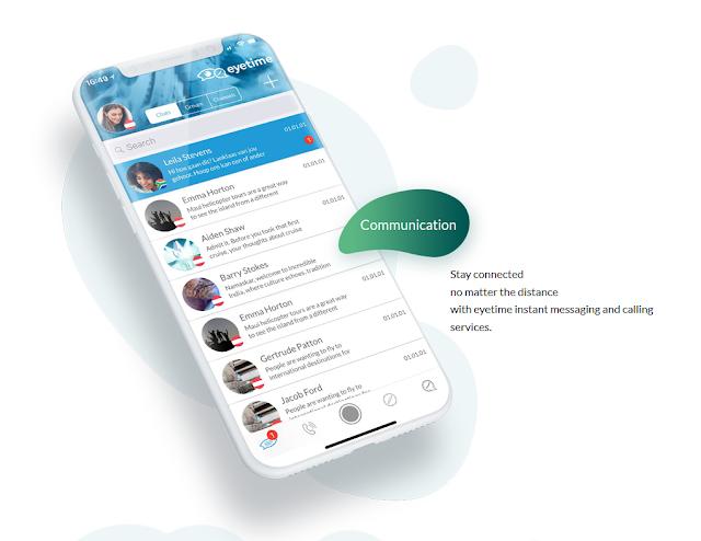eyetime je především messenger a komunikátor, i když pokročilé funkce jako ve Facebook Messengeru nebo WhatsApp v něm zatím nehledejte. Je totiž určen především firemní komunikaci, kde je hlavní výhodou právě jednoduchost.