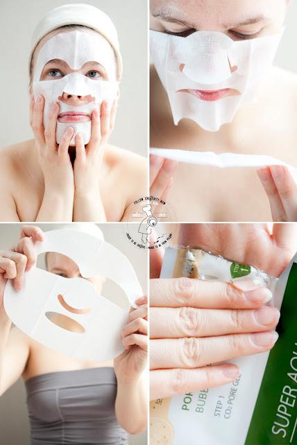 bubble mask maseczka koreańska maseczka bąbelkowa k-beauty