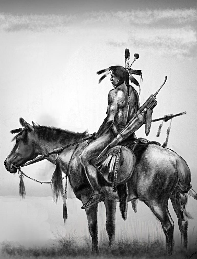 warrior native plain american - photo #16