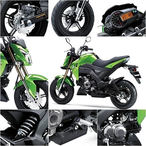 Review Supernaked Performance Kawasaki Z125 2016