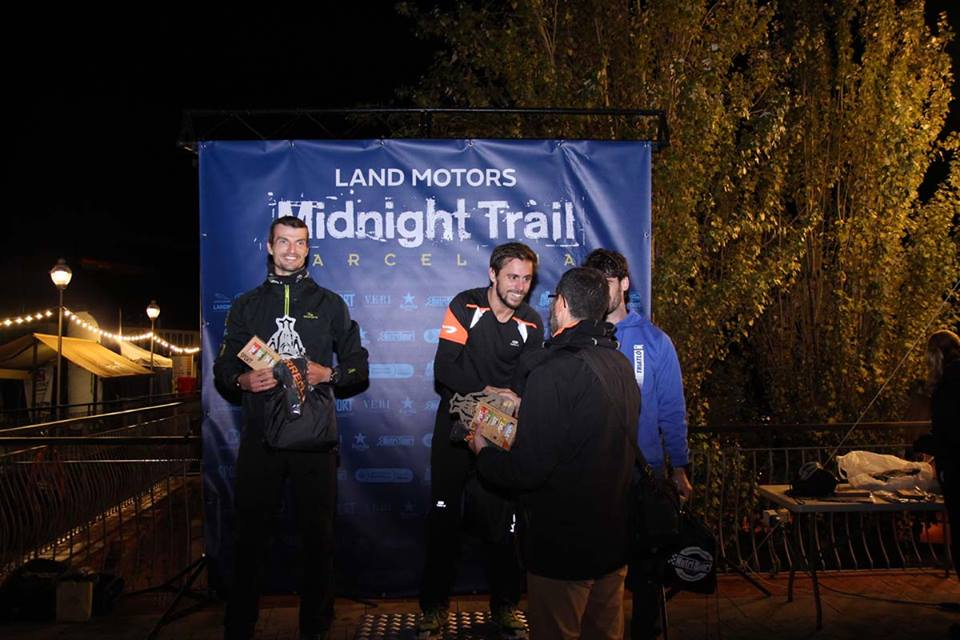 Podio Masculino Land Motors Midnight Trail Barcelona 2017