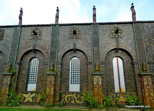 Templo Central, no Museu Oficina de Brennand, Recife