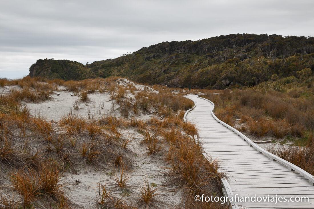 Dune walk en costa oeste