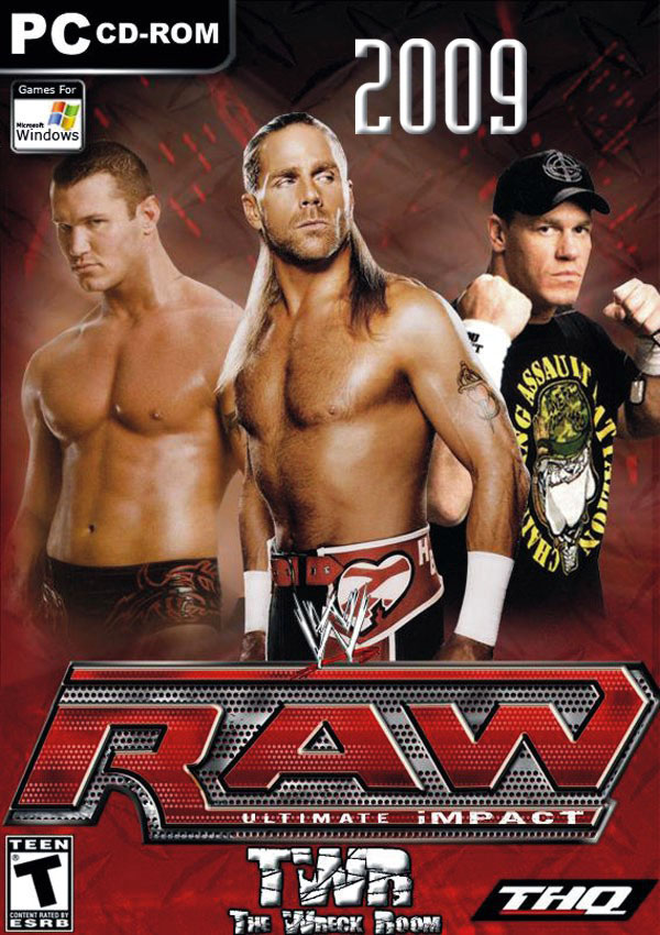 WWE RAW Ultimate Impact 2009 Download Cover Free Game