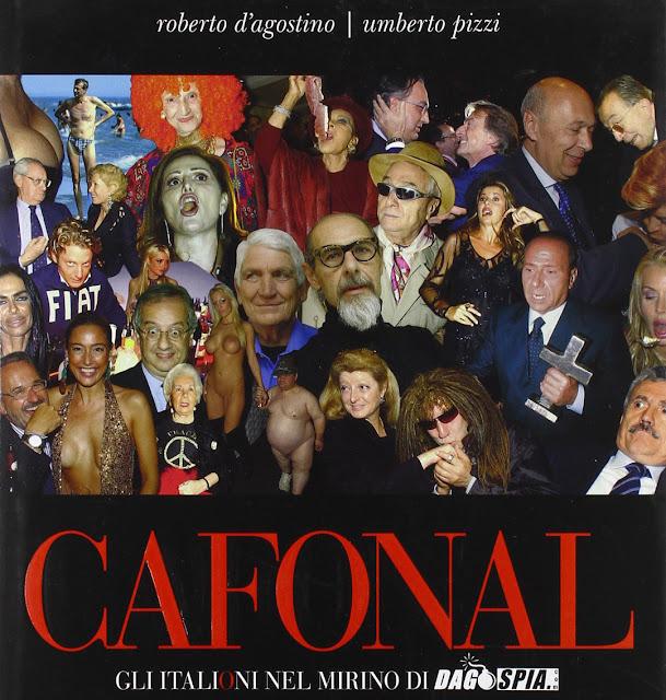 Copertina di Cafonal, di Umberto Pizzi e Roberto d'Agostino
