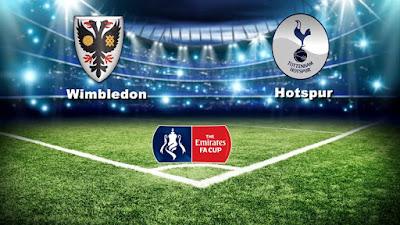 Ulasan Sepakbola Piala FA Hotspur Versus Wimbldon 07 Januari 2018