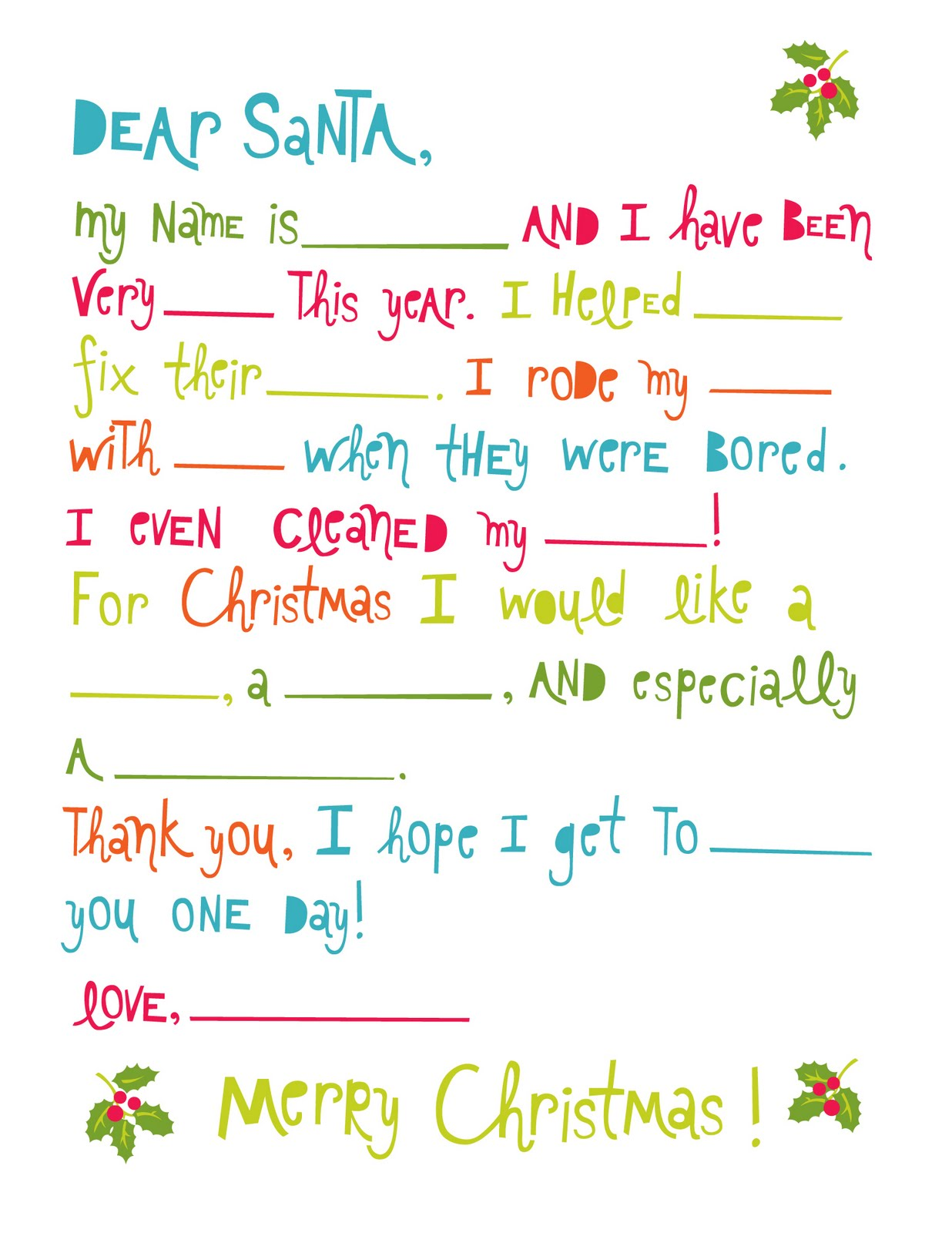 Lemon Squeezy Day Six Santa Letter