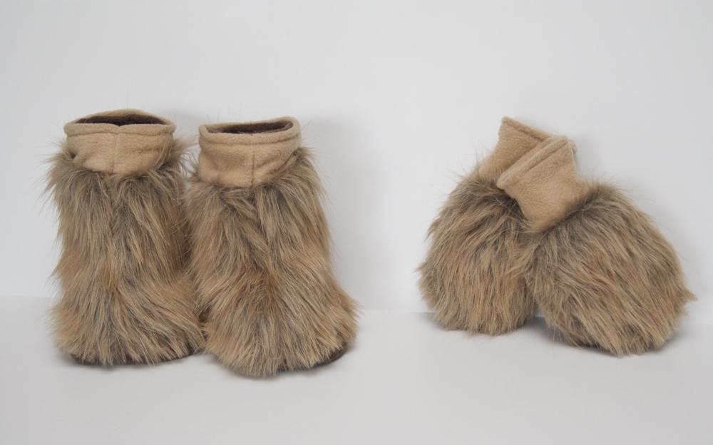 Womens Fleece Lined Shoe