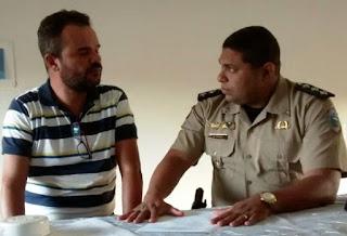 6º Batalhão de Polícia Militar firma parceria com programa social da Secretaria de Desenvolvimento Humano de Cajazeiras