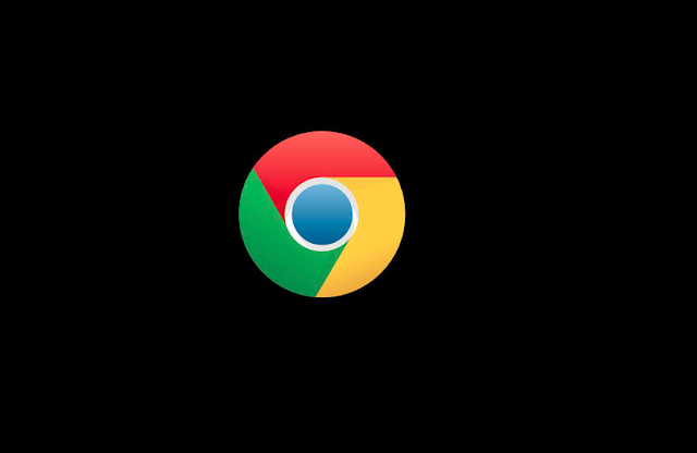 How to resolve the black screen error in google chrome?