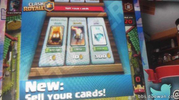 Vender cartas em Clash Royale