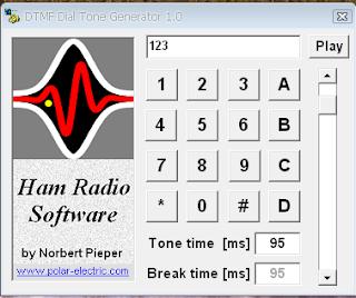Generador de tonos DTMF.