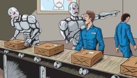 Los robots reemplazan al hombre.¿Qué pasará con la sociedad?