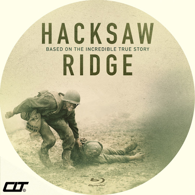 Label Bluray Hacksaw Ridge