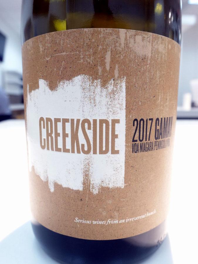 Creekside Gamay 2017 (88+ pts)