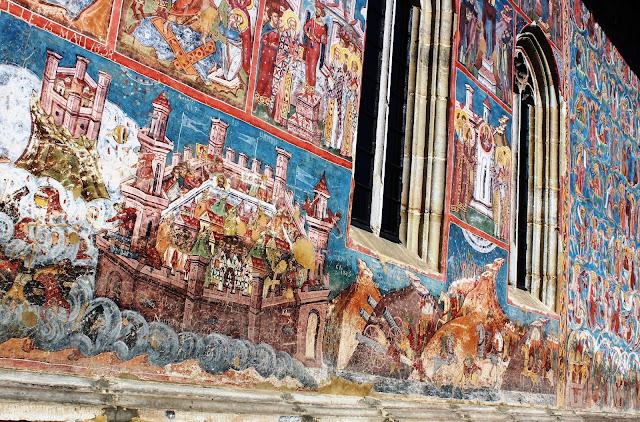 monastero+moldovita+bucovina+romania