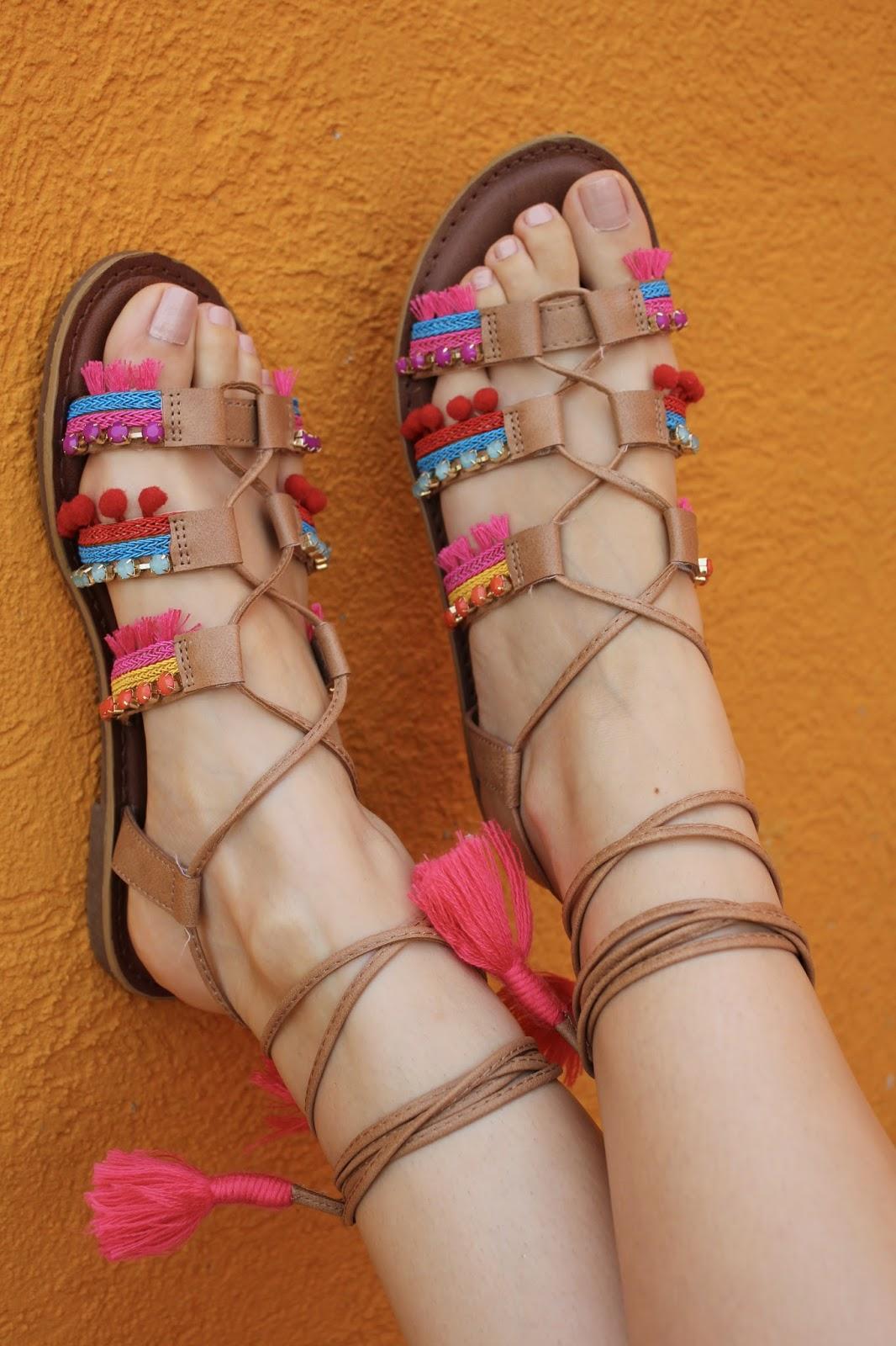 Steve Madden Tassel Sandals