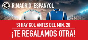 sportium promocion 25 euros Real Madrid vs Espanyol 1 octubre