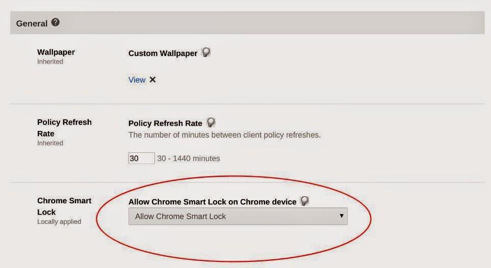 Enabling Smart Unlock on Chromebooks for Google Apps users