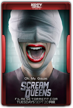 Scream Queens 2ª Temporada Legendado Torrent 2016 HDTV 720p 1080p Download